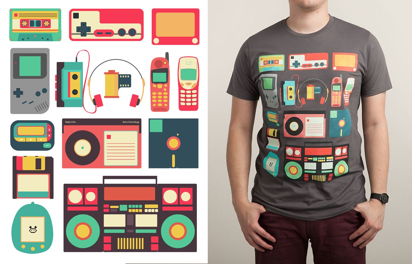 Shirt design examples - The 9 Graphic Design Trends You Need To Be